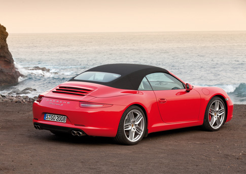 2012 Porsche 911 Carrera and Carrera S Cabriolet