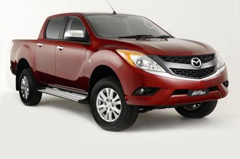 New Mazda BT50