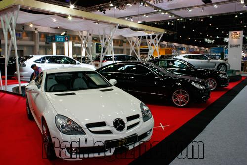 บรรยากาศในงาน Motor Expo 2009