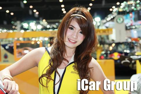 ภาพพริตตี้สาวสวยในงาน Motor Expo 2010