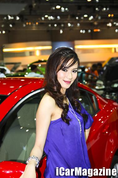 พริตตี้ Motor Show 2553