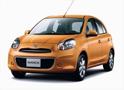 นิสสัน มาร์ช ใหม่ รถยนต์ ECO Car คันแรกของไทย